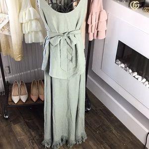 Maxi dress bySoft Surroundings.